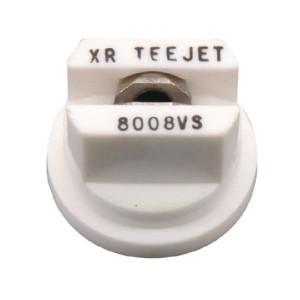 TeeJet Spleetdop XR 80° wit RVS - XR8008VS | Zeer goede slijtvastheid | 1 4 bar | 8 mm | 80°