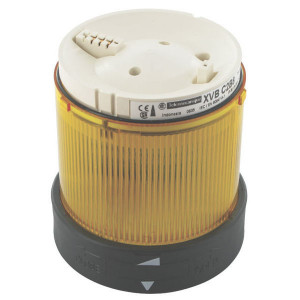 Schneider-Electric Signaaltorenlamp, geel, 230VAC - XVBC2M8 | 230V AC