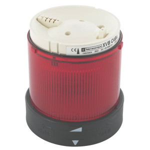 Schneider-Electric Signaalelement, rood - XVBC4B4 | Lamp max. 7W | 24VAC, 24V...48VDC