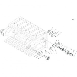 Kuhn Geleideplaat - Z4500130