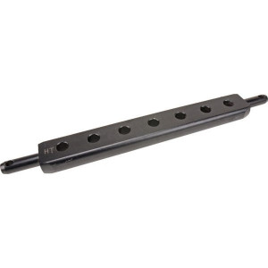Gatenbalk 500x60mm cat.1 - Z622540KR | Gepoedercoat | 500 mm | 61,5 mm | 30 mm | 50 mm | 40 mm | 53,5 mm | 22 mm | 11,5 mm
