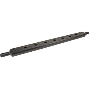 Gatenbalk 1085x89mm cat.3 - Z636085KR | Gepoedercoat | 1085 mm | 89,0 mm | 45 mm | 60 mm | 152 mm | 110 mm | 36 mm