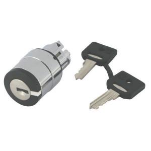 Schneider-Electric Sleutelschakelaar, 2st, tip - ZB4BG6