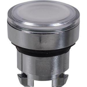 Schneider-Electric Signaaldrukknop,wit,arreterend - ZB4BH013