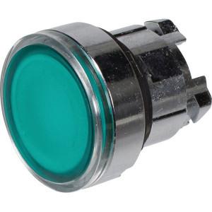Schneider-Electric Signaaldrukknop,groen,arreter. - ZB4BH033