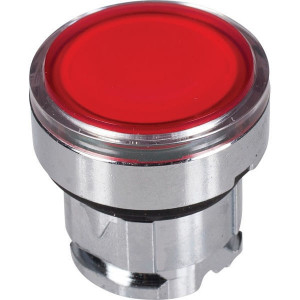 Schneider-Electric Signaaldrukknop,rood,arreter. - ZB4BH043