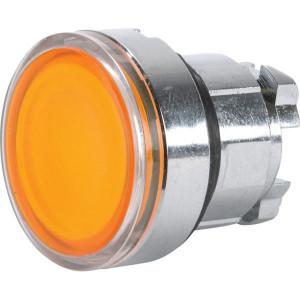 Schneider-Electric Signaaldrukknop,geel,arreter. - ZB4BH053