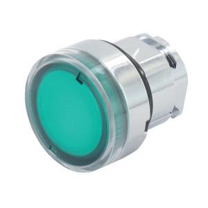 Schneider-Electric Signaaldrukknop, groen - ZB4BW33