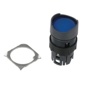 Schneider-Electric Signaaldrukknop, blauw - ZB6AF6