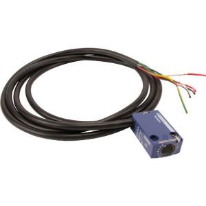 Schneider-Electric Eindschakelaar,2xNC,2m kabel - ZCMD29L2